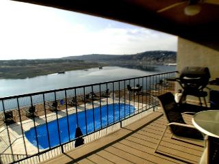 Condo right by the Briarcliff Marina with Ubalieveable View of the Lake - Spicewood vacation rentals