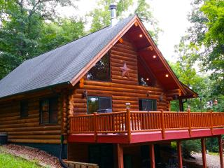 Paint Creek Lodge ... Secluded A-Frame Log Cabin - Harpers Ferry vacation rentals