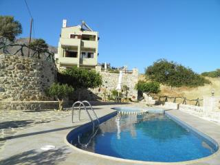 Villa,beachonfoot,seaview,private pool,4-5 people - Triopetra vacation rentals
