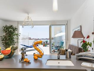 PETITE PENTHOUSE APT W/TERRACE+WIFI+BIKES - Valencia vacation rentals