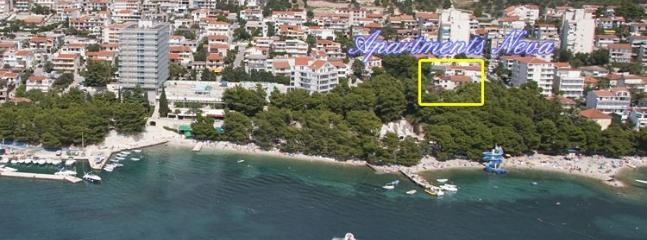 1 bedroom Apartment with Internet Access in Makarska - Makarska vacation rentals