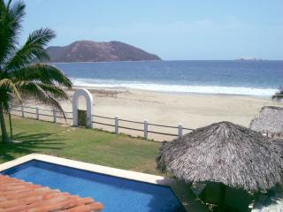 Luxury Beach Front Villa Del Mar - Zihuatanejo vacation rentals