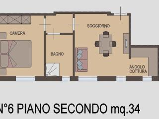 Appartamento Bilocale 2° piano - Rimini vacation rentals
