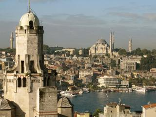 fabulous Bosphorous views from shared terrace - Istanbul vacation rentals