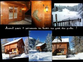Chalet Aconit, 7/8 pers, grande terrasse SUD, pied pistes - Les Orres vacation rentals