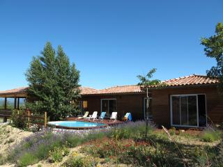 Bright House in Grospierres with A/C, sleeps 8 - Grospierres vacation rentals