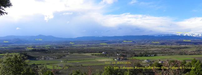 Gite du Mas de Bouchon Sud-Ardèche Nature,Calme - Beaulieu vacation rentals