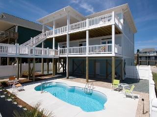 S. Shore Drive 1614 Oceanfront! | Private Pool, Hot Tub, Elevator, Jacuzzi - Surf City vacation rentals