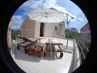 Luxury apartment with big terrace & loggia - Sukosan vacation rentals