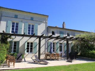 Spacious 5 bedroom Mortagne-sur-Gironde Gite with Deck - Mortagne-sur-Gironde vacation rentals