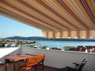 Jadro Island Rab 250 m to see, big terrace, **** - Rab Town vacation rentals