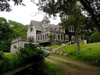 Custom Post & Beam with Distant Views 113876 - Aquinnah vacation rentals