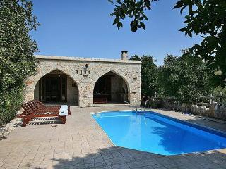 Charming Villa with DVD Player and Satellite Or Cable TV - Miliou vacation rentals