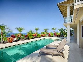 Large 4 bedroom luxurious home with ocean views and pool in gated community-PHKEST4 - Kailua-Kona vacation rentals