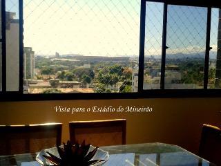 Apartamento 3 km Mineirao 8 pessoas Segurança 24hs - Belo Horizonte vacation rentals