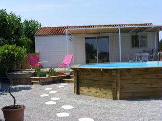 chalet de charme à la campagne avec piscine privée - Narbonne vacation rentals