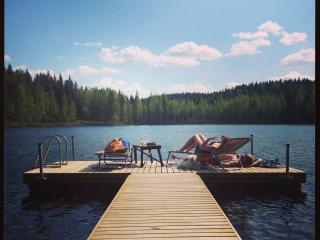 Beautiful 1 bedroom Kuhmoinen Cottage with Water Views - Kuhmoinen vacation rentals
