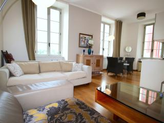 Pretty balcony apartment facing Place Massena, the fountains and the Old Chateau. - Nice vacation rentals