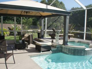 Florida Spa Retreat Pool Home, Convenient Location - Tampa vacation rentals