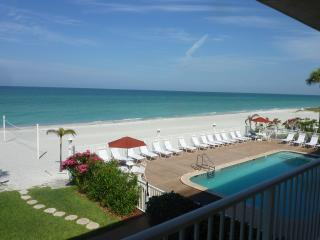 Spacious Gulf Front beach condo on Longboat Key - Florida vacation rentals