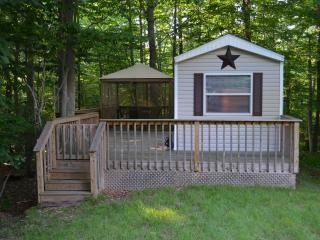 Cabin in the woods Eagle Lake Poconos PA - Gouldsboro vacation rentals