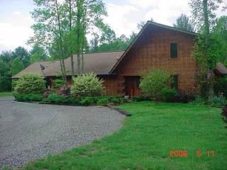 Log Chalet PetFriendly,Creek,Pond/Spring Bookings - Murphy vacation rentals