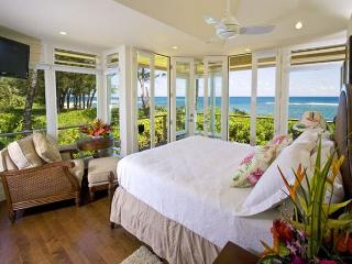 Beachfront Tropical Dream House with A/C! - Haena vacation rentals
