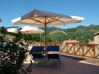 Spacious Chianti apartment with pool access, terrace and outdoor dining area - Gaiole in Chianti vacation rentals