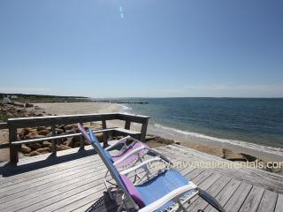 URSIV - Herring Creek Waterfront Cottage,  Private Beach Frontage, Spectacular Views, Kayak, Swim, Fish or Just Relax - Vineyard Haven vacation rentals