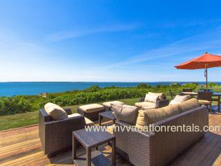 HERGM - Outstanding Waterfront Home, Magnificent Waterviews, Private Association Beaches, Newly Furnished - West Tisbury vacation rentals