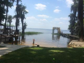 Sandy Beach on Lake Santa Fe- Melrose, FL - Interlachen vacation rentals