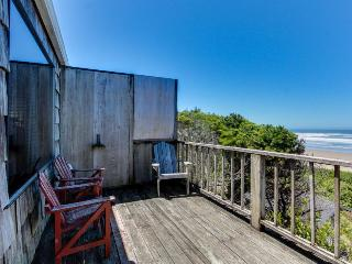 Oceanfront, dog-friendly retreat w/ocean views & relaxing deck facing the water! - Waldport vacation rentals