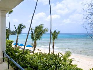 SPECIAL OFFER: Barbados Villa 117 Beachfront Apartment On The First Floor With Breathtaking Views Across The Caribbean Sea. - Speightstown vacation rentals