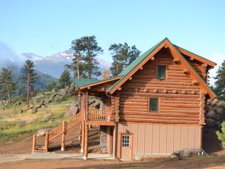 Brand new custom Log Cabin- Rocky Ridge - Allenspark vacation rentals