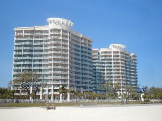 Beautiful two bedroom two bath condo with Gulf view. - Gulfport vacation rentals