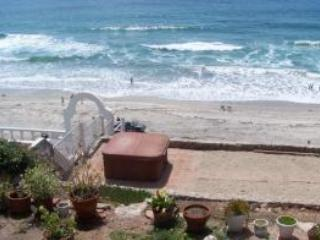 Lovely Ocean Front Rustic Home in Rosarito - Image 1 - Rosarito Beach - rentals