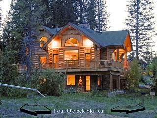Custom Luxury Log Home Situated on 4 O'clock Run - Ski-in/Ski-out! - Breckenridge vacation rentals