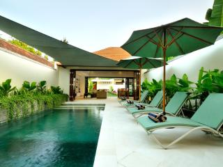 Family friendly 3-Bed with safe pool area: VILLA PALM GARDEN: Cool Bali Villas - Sanur vacation rentals