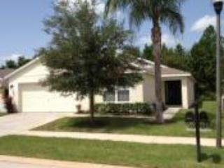 Front of villa - Beautiful 4/3 pool,games room on conservation - Davenport - rentals