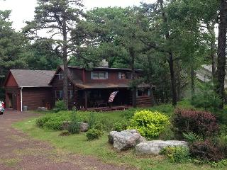 Cozy Four bedroom Log Cabin home bring your smores - Blakeslee vacation rentals