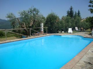 Lovely Villa with pool on Tuscan/Umbrian border - Mercatale di Cortona vacation rentals