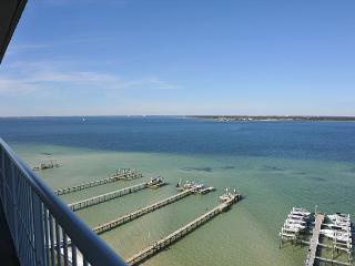Gorgeous views- Tristan Towers 3 bdrm w/wraparound balcony - Pensacola Beach vacation rentals