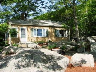 Captain's Cottage: Private footbridge to the beach - North Shore Massachusetts - Cape Ann vacation rentals