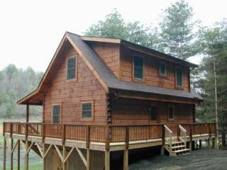 Perfect 3 bedroom West Jefferson Cabin with Deck - West Jefferson vacation rentals