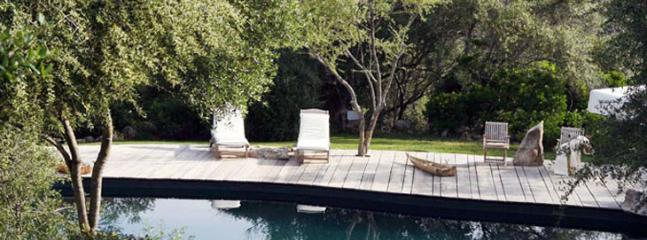 swimming pool - villa cavalli - San Pantaleo - rentals