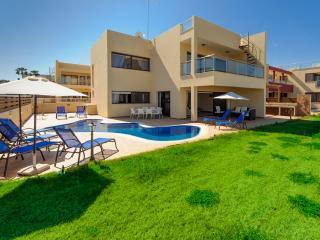 Villa Aphrodite (No.13) - Exquisite 5-BDM seafront  villa with pool and garden - Protaras vacation rentals