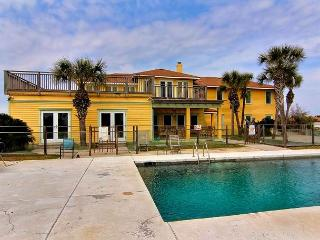 5500 square foot beach house situated on 1.86 acres overlooking the Gulf! - Port Aransas vacation rentals