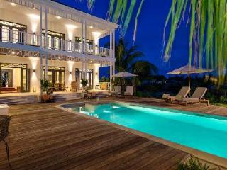 Luxury family home Saving Grace in private cove with pool, staff & sunset views - Turks and Caicos vacation rentals
