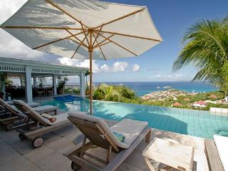 Villa set in tropical garden with incomparable views over Gustavia WV AMI - Lurin vacation rentals