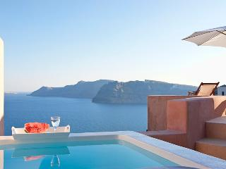 Blue Villas | Galatia Villa | Sunset view in Oia - Oia vacation rentals
